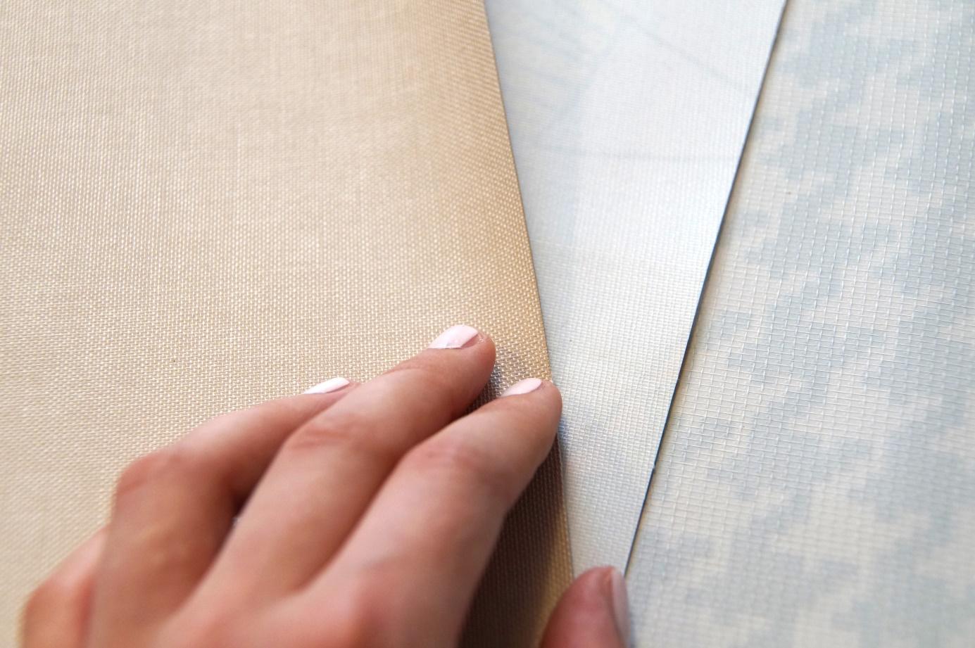 Extra sterk tafelzeil met geweven polyester rug